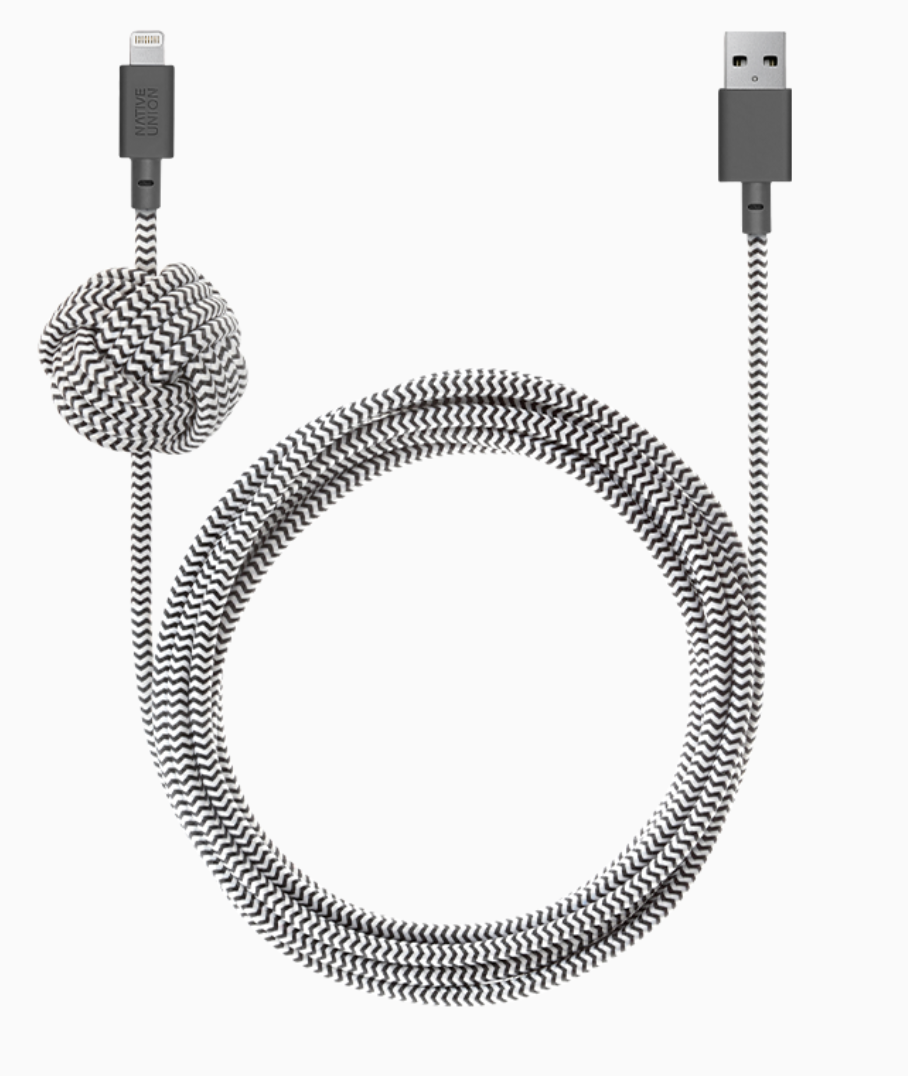 Native Union Night Cable Ultra Strength Lightning Cable 10ft - Cosmos at Small Dog Electronics