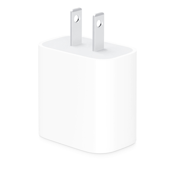 Apple 20W USB-C Power Adapter - (2020) at Small Dog Electronics