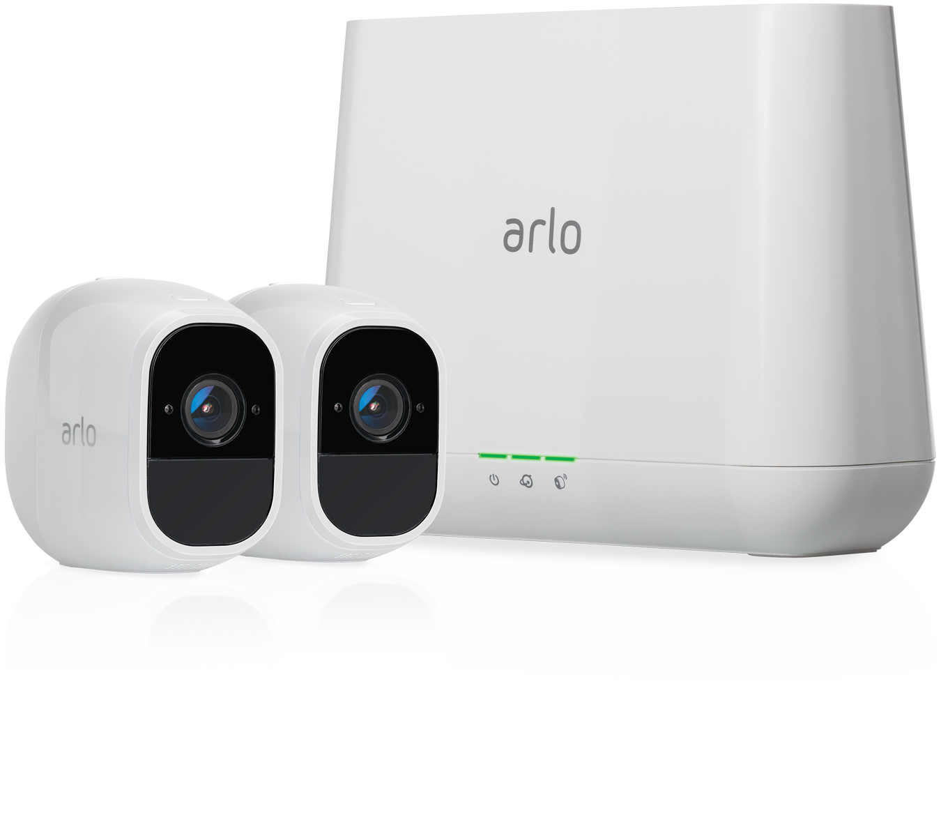 Arlo Pro Smart Security System with 2 Arlo Pro Cameras at Small Dog Electronics