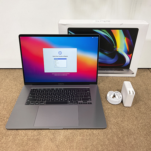 New, Open Box - MacBook Pro 16in i7 2.6GHz 6-Core 32GB/512GB RP5300M 4GB Space Gray CTO (2019) at Small Dog Electronics