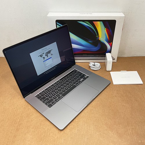 New, Open Box - MacBook Pro 16in 2.3 GHz 8-Core i9 64GB/1TB RP5500M 8GB Space Gray CTO (2019) at Small Dog Electronics