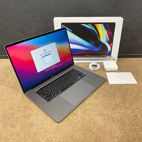 Open Box - MacBook Pro 16in 2.6 GHz 6-Core i7 16GB/512GB RP5500M 4GB Space Gray CTO (2019) at Small Dog Electronics