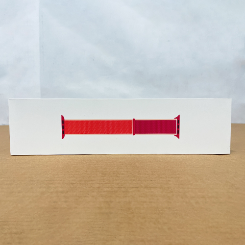 New, Factory Sealed, A-Goods, Apple Sport Loop Band for 44mm Watch - Pomegranate - MWU02AM/A at Small Dog Electronics