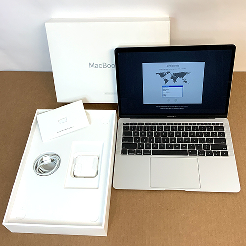 Refurbished - MacBook Air 13in 1.6GHz Dual-Core i5 8GB/256GB Silver MREC2LL/A (2018) at Small Dog Electronics
