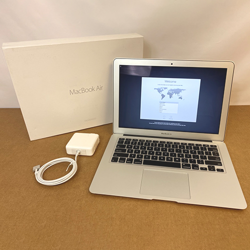 Refurbished - MacBook Air 13in 1.6GHz i5 8GB/128GB MMGF2LL/A (2015) at Small Dog Electronics