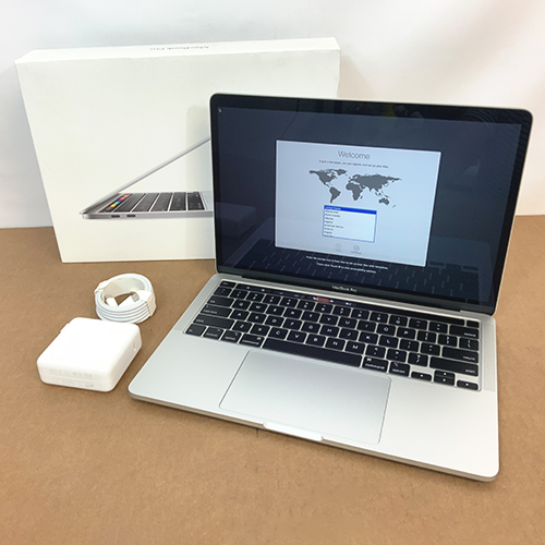 New, Open Box - MacBook Pro 13in Touch Bar 2.0GHz Quad-Core i5 16GB/1TB SSD Silver MWP82LL/A (2020) at Small Dog Electronics