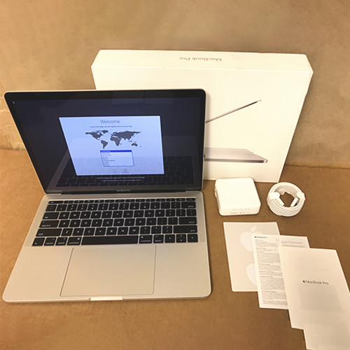 Refurbished - MacBook Pro 13in 2.3GHz i5 Dual-Core 8GB/128GB Silver MPXR2LL/A (2017) at Small Dog Electronics