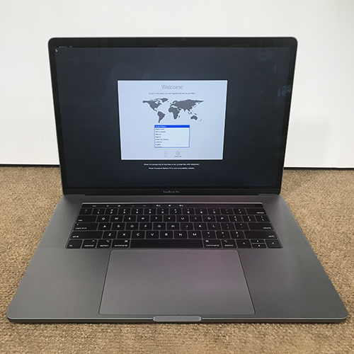Open Box -  MacBook Pro 15in Touch Bar 2.4GHZ i9 8-Core 32GB/1TB/RP 560X Space Gray CTO at Small Dog Electronics