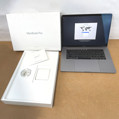Refurbished - MacBook Pro 15in Touch Bar 2.3GHz i9 8-Core 16GB/512GB/RP560x 4GB Space Gray MV912LL/A (2019) at Small Dog Electronics