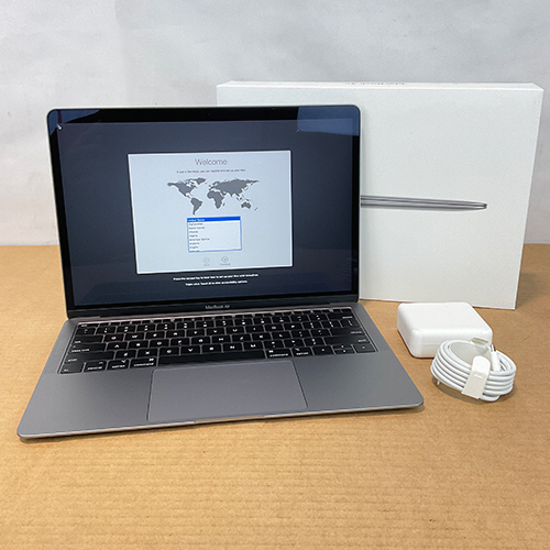New, Open Box - MacBook Air 13in 1.6GHz Dual-Core i5 8GB/256GB Space Gray MVFJ2LL/A (2019) at Small Dog Electronics