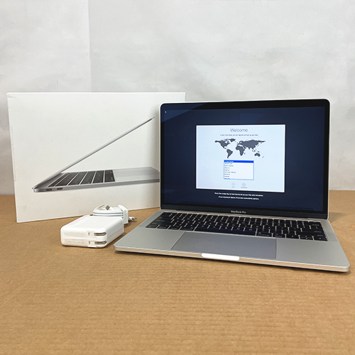 New, Open Box - MacBook Pro 13in 2.5GHz Dual-Core i7 8GB/256GB Silver CTO (2017) at Small Dog Electronics
