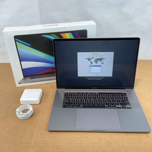 New, Open Box - MacBook Pro 16in 2.6GHz 6-Core i7 32GB/512GB RP5300M 4GB Space Gray CTO (2019) at Small Dog Electronics