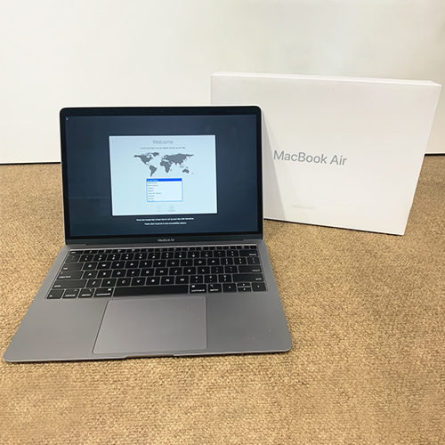 Refurbished - MacBook Air 13.3in 1.6GHz Dual-Core i5 16GB/512GB Space Gray CTO (2018) at Small Dog Electronics