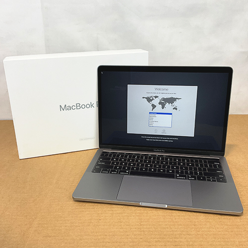 Refurbished - MacBook Pro 13in Touch Bar 2.3GHz i5 Quad-Core 8GB/256GB Space Gray MR9Q2LL/A (2018) at Small Dog Electronics