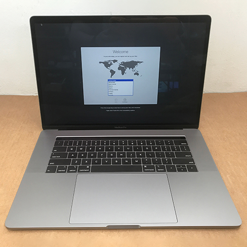 Refurbished - MacBook Pro 15in 2.9GHz 6-Core i9  Touch Bar 16GB/512GB Space Gray CTO (2018) at Small Dog Electronics
