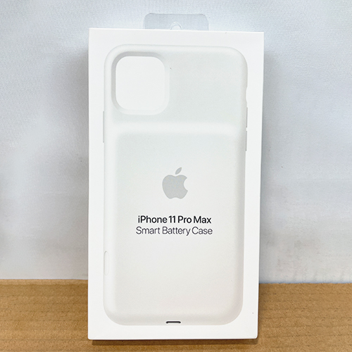 New, Factory Sealed - Smart Battery Case with Wireless Charging for iPhone 11 Pro Max White MWVQ2LL/A at Small Dog Electronics