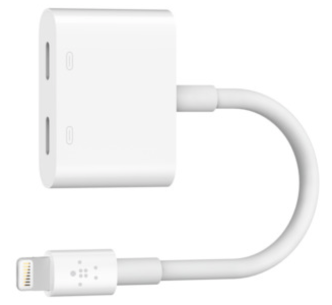Belkin Lightning Audio and Charge RockStar at Small Dog Electronics