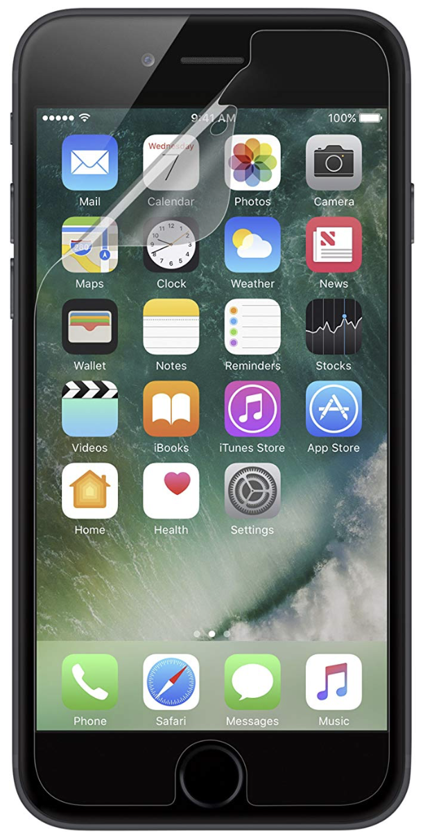 Belkin TrueClear Transparent Screen Protector for iPhone 6 Plus - 3 Pack at Small Dog Electronics