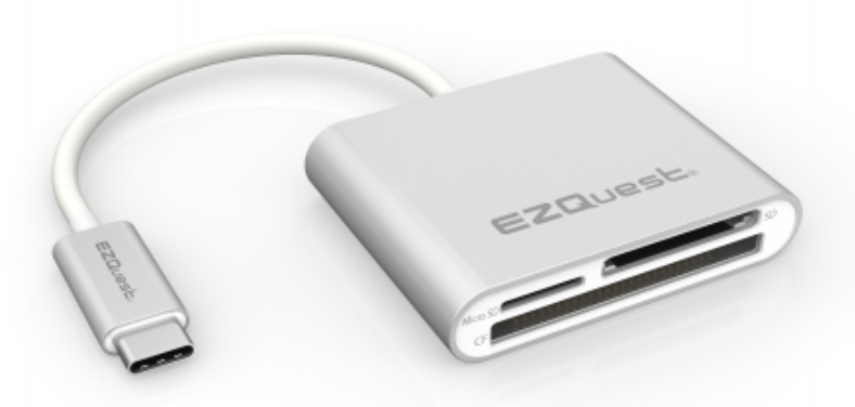 EZQuest USB-C Card Reader Adapter at Small Dog Electronics