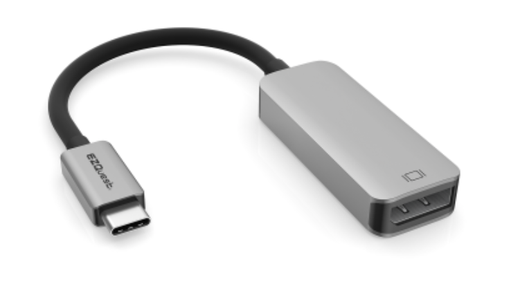 EZQuest USB-C to DisplayPort 4K, 60Hz Adapter at Small Dog Electronics