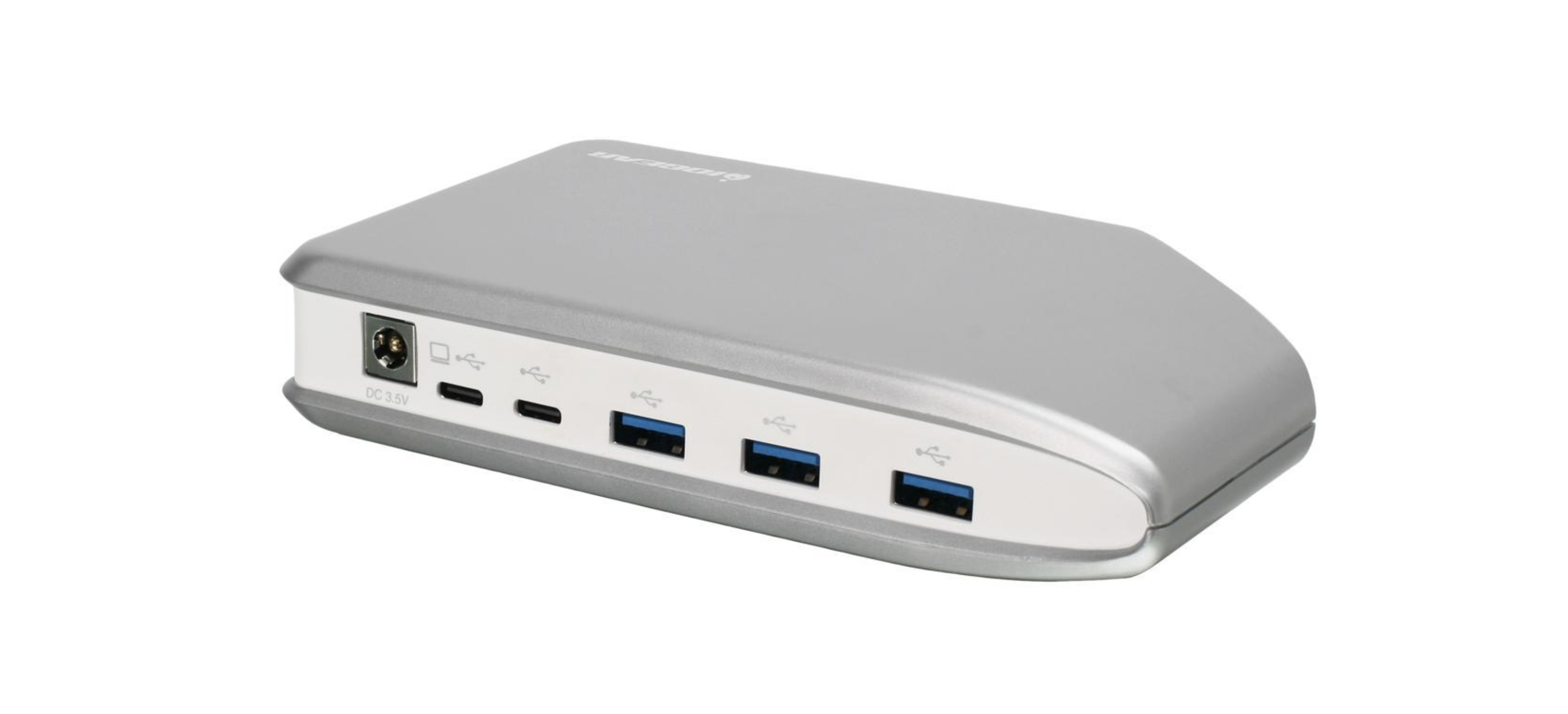 IOGear USB-C Hub With Five USB 3.1 Ports and SD/SD Micro Card Reader at Small Dog Electronics