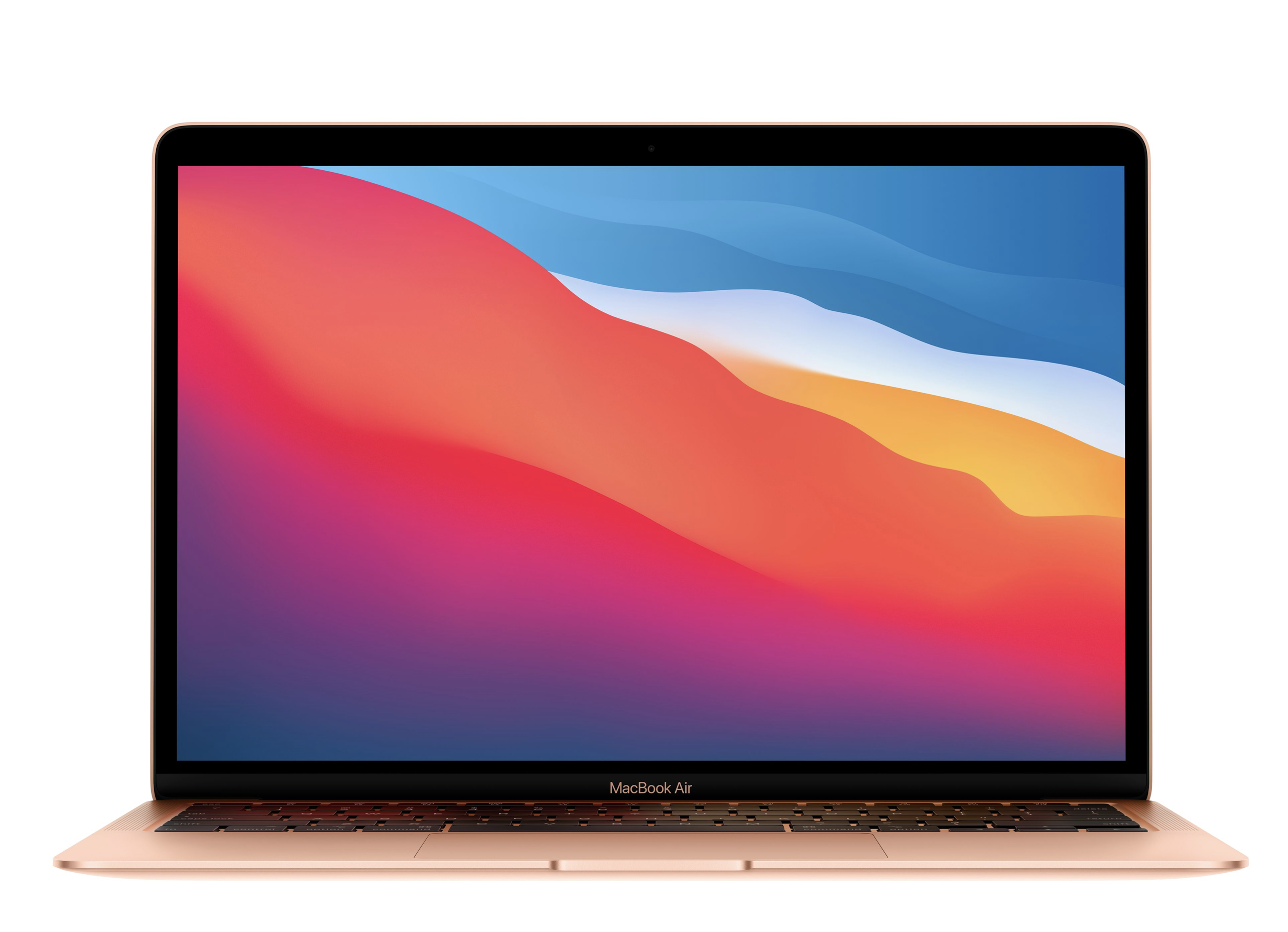 Macbook Air Gold 256GB and $25 Case Logic Notebook Sleeve at Small Dog Electronics