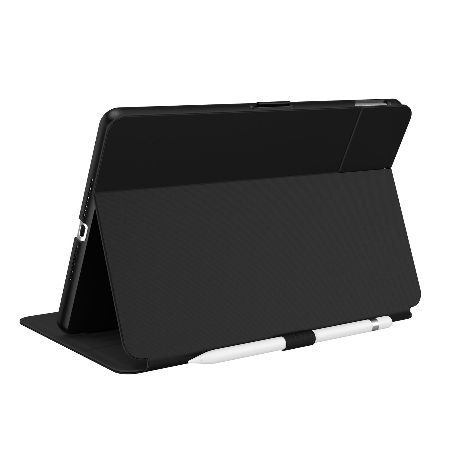 Speck Balance Carrying Case (Folio) for 10.2in iPad 7th/8th/9th Gen. - Black /Black at Small Dog Electronics