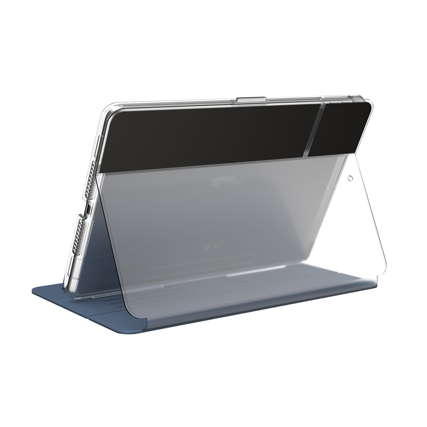 Speck Balance Carrying Case (Folio Clear) for 10.2in iPad 7th Generation (2019) - Blue/Clear at Small Dog Electronics