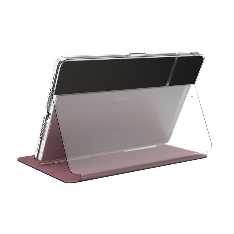 Speck Balance Carrying Case (Folio Clear) for 10.2in iPad 7th Generation (2019) - Rose Gold/Clear at Small Dog Electronics