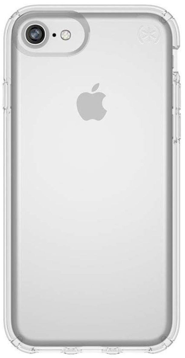 Speck Presidio Case for iPhone 8/7 - Clear at Small Dog Electronics
