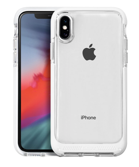 Laut Fluro Crystal for iPhone Xs Max - White at Small Dog Electronics