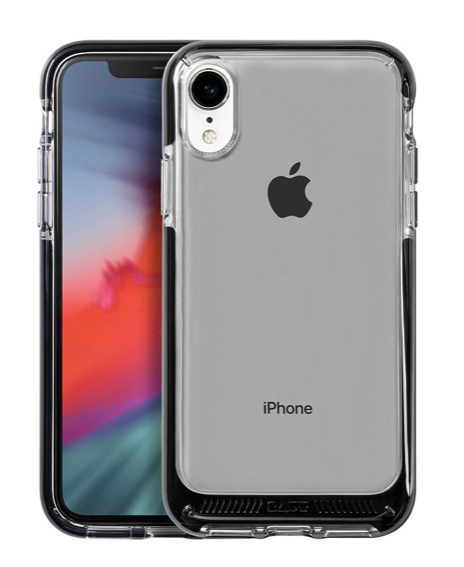 Laut Fluro Crystal for iPhone XR - Black at Small Dog Electronics