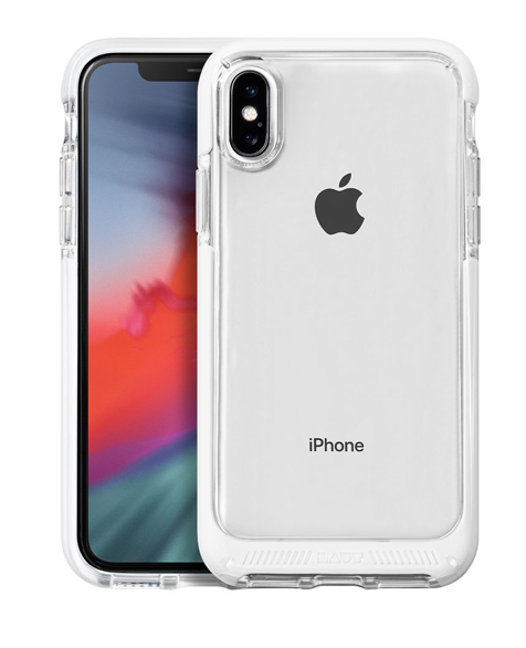 Laut Fluro Crystal for iPhone X/Xs - White at Small Dog Electronics