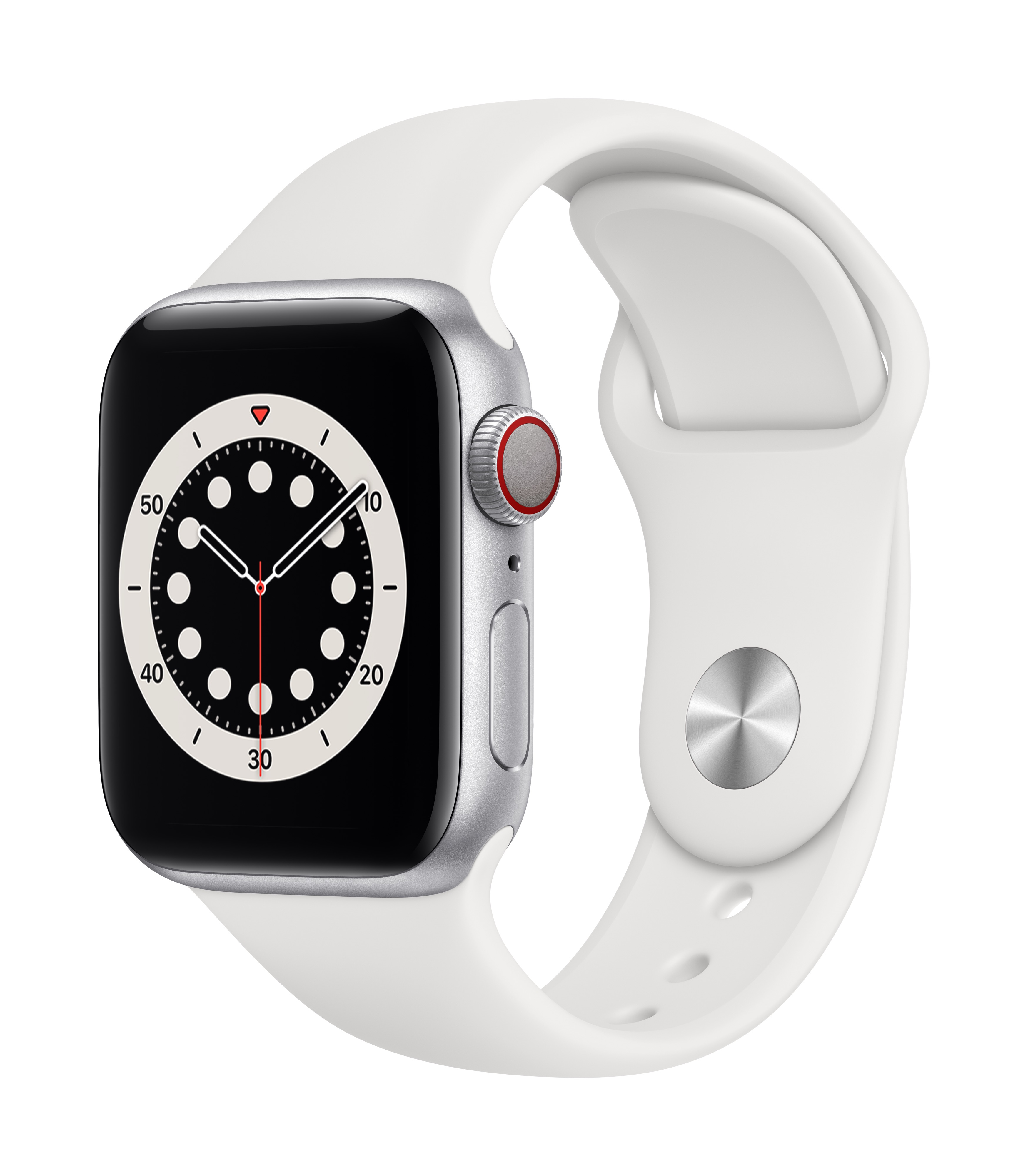 Apple_Watch_Series_6_Cellular_40mm_Silver_Aluminum_White_Sport_Band_34R_Screen__USEN