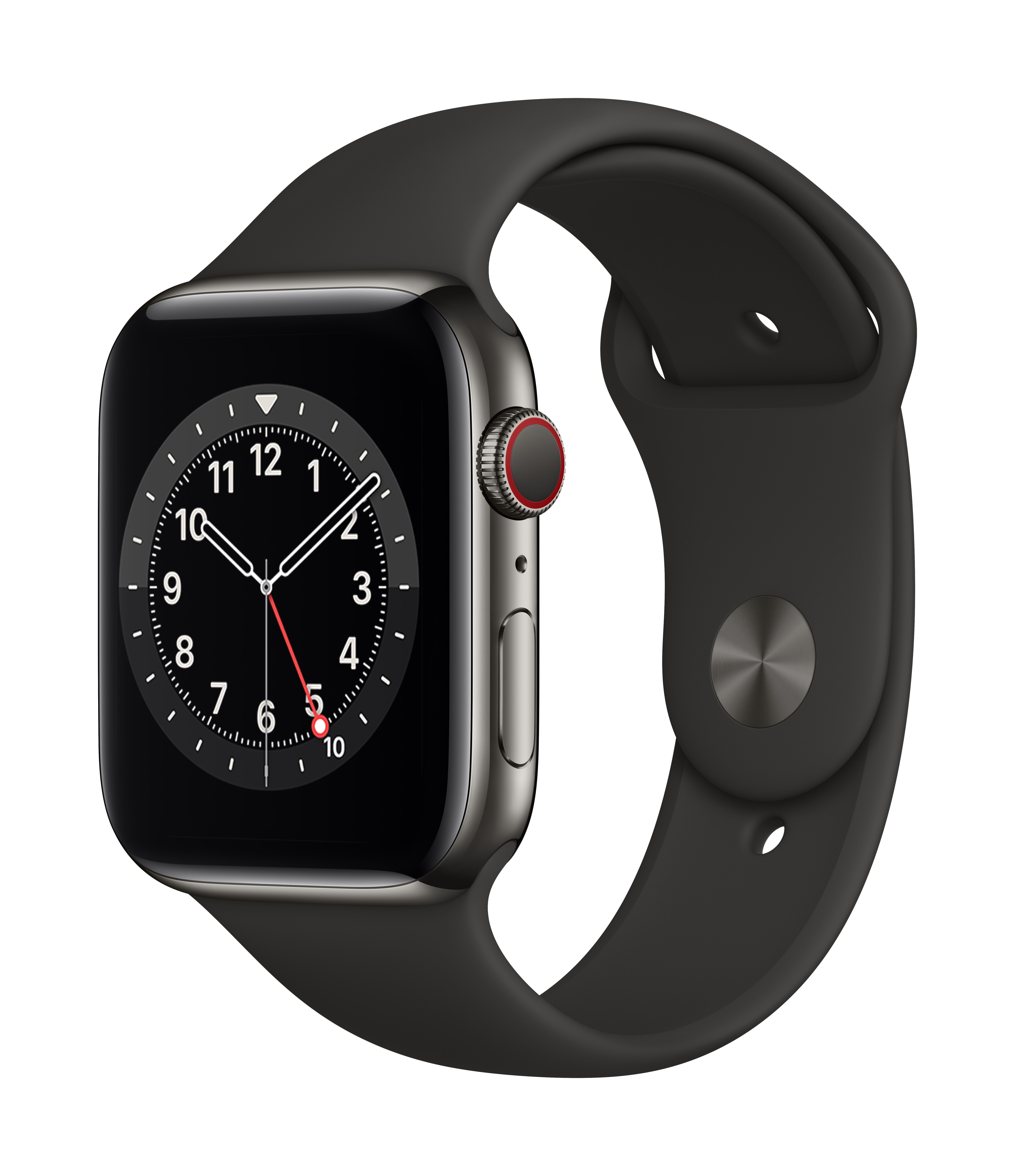 Apple_Watch_Series_6_Cellular_44mm_Graphite_Stainless_Steel_Black_Sport_Band_34R_Screen__USEN