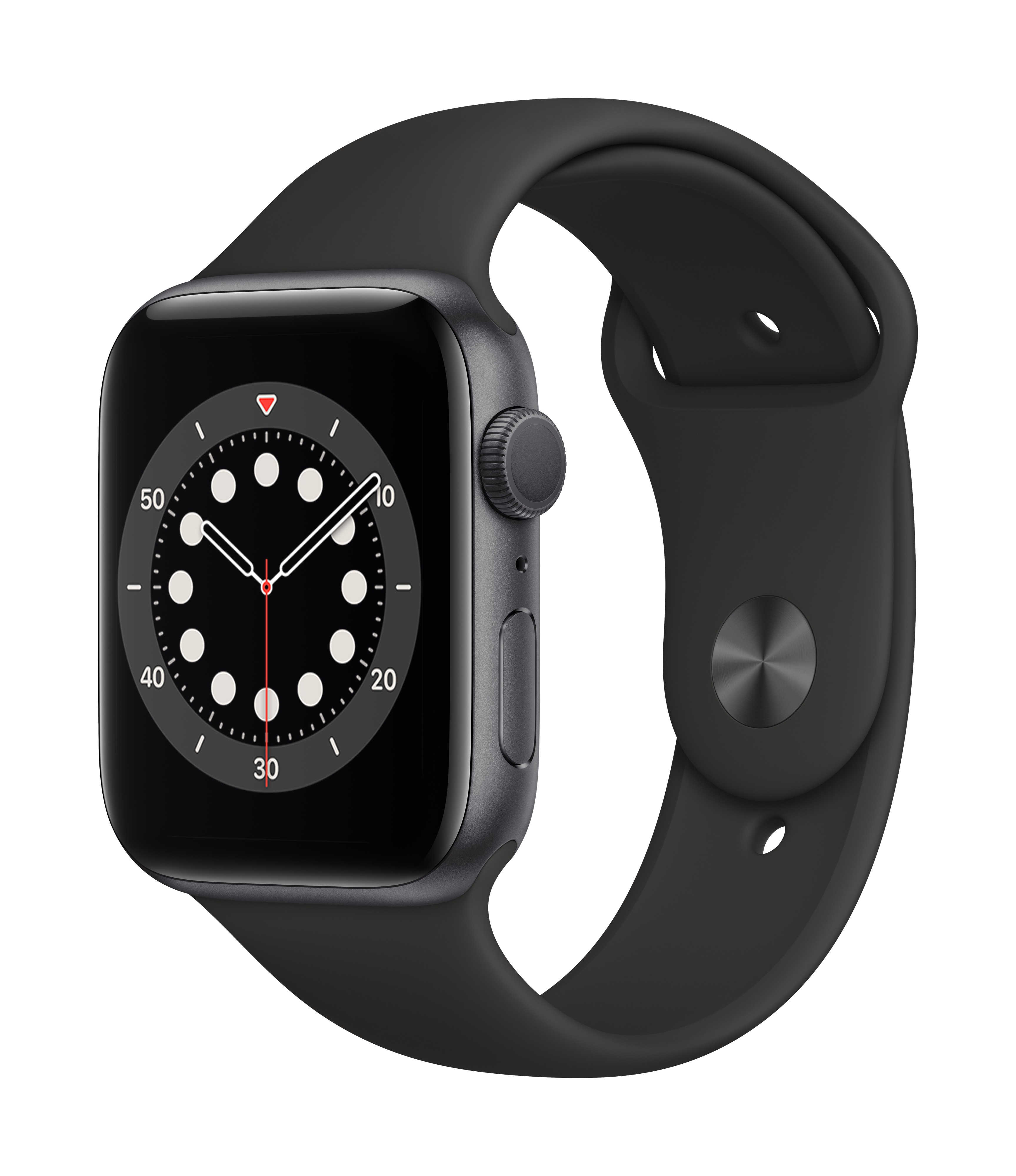 Apple_Watch_Series_6_GPS_44mm_Space_Gray_Aluminum_Black_Sport_Band_34R_Screen__USEN