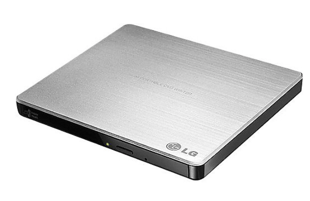 LG Super-Multi USB Portable DVD/CD Rewriter w/M-Disc - Silver