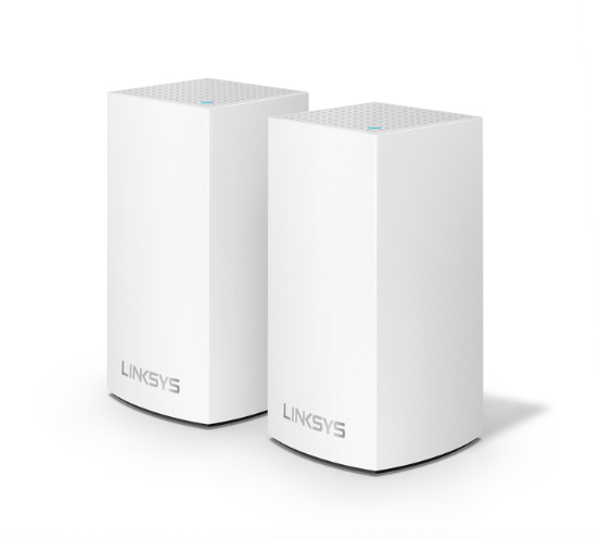 Linksys Velop Dual Band Mesh Networking Wireless Router, 2-Pack - White