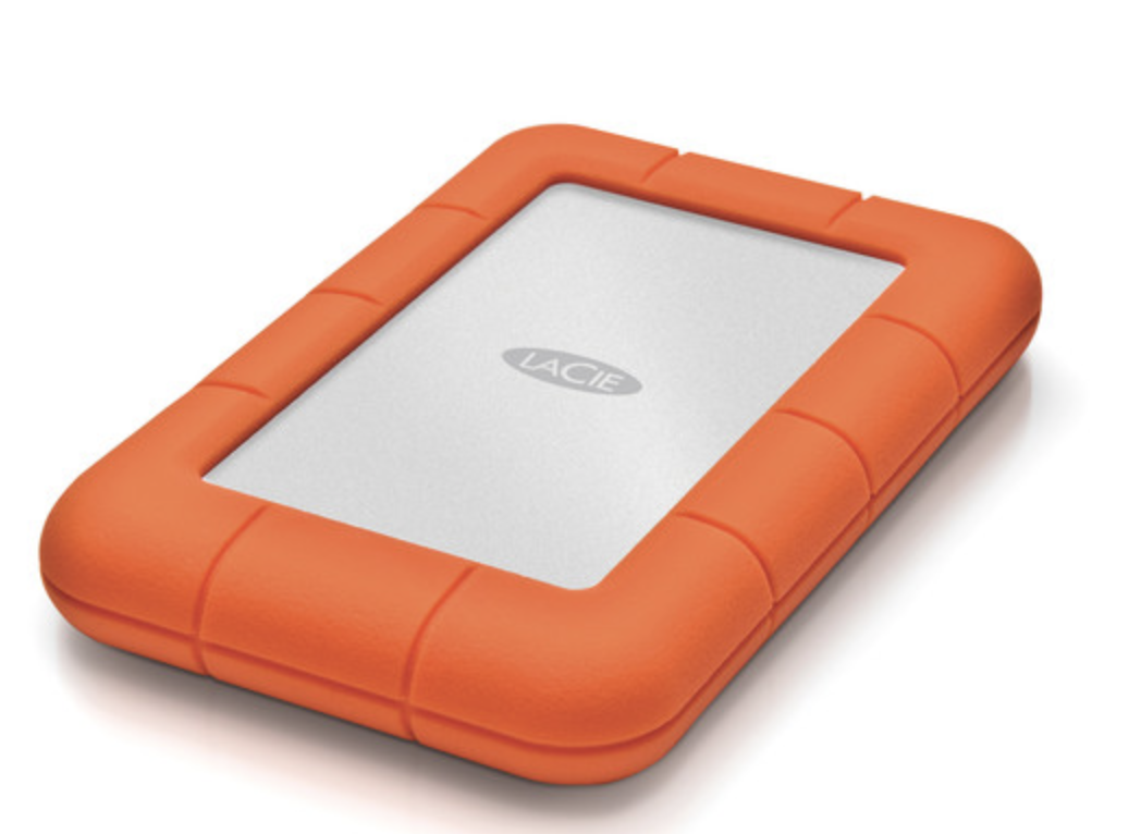 LaCie Rugged USB-C 2.5 External Hard Drive - 2TB