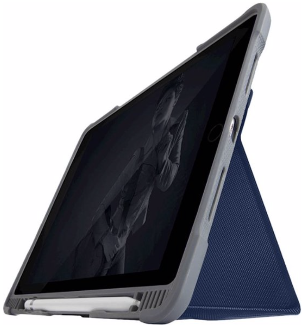 STM Dux Plus Duo for iPad 10.2 7th Generation - Blue