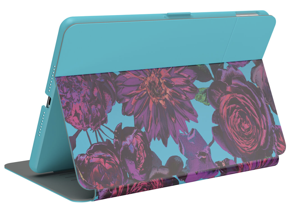 Speck Balance Carrying Case (Folio Print) for 10.2in iPad 7th Generation (2019) - Floral/Blue