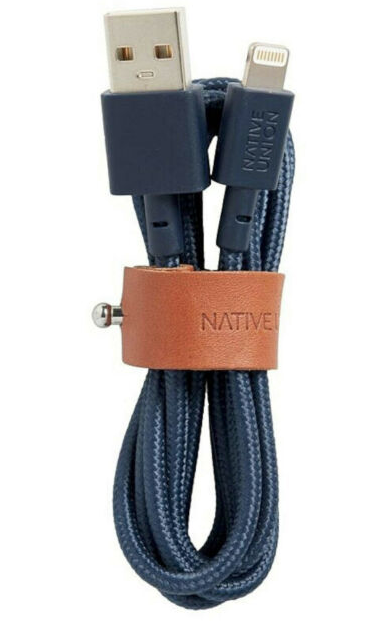 Native Union Belt Cable Ultra Strength Lightning Cable 1.2m - Marine